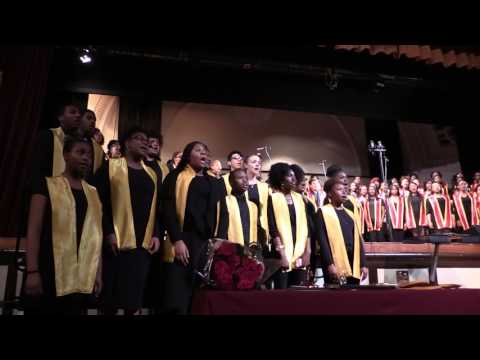 """""""The Lord Bless You and Keep You"""" - Lindblom Combined Choirs"""