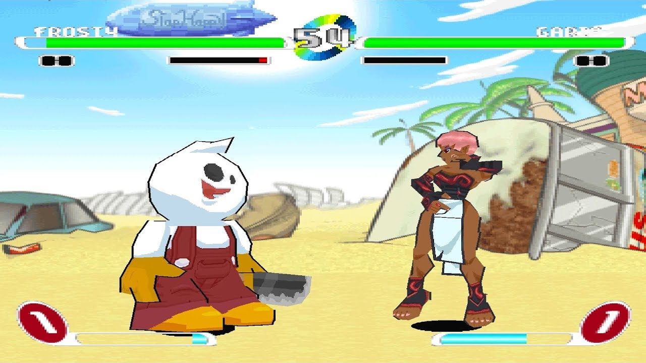 Slap Happy Rhythm Busters Ps1 Play As Frosty Youtube