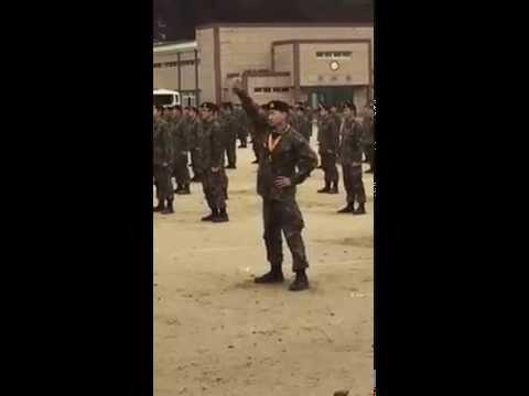 151119 Super Junior Eunhyuk Completion Ceremony Group Dance
