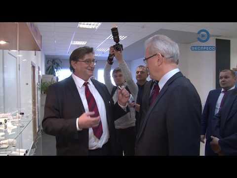 Иван Белозерцев поздравил с юбилеем «МедИнж»