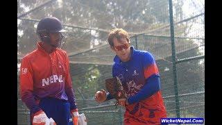 Jonty Rhodes Coaching Nepal U-19 Cricketers | WicketNepal