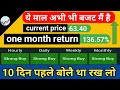 Adani Green Energy Good Opportunity For Hold ? |daily live trading | Subhash Tech Live.