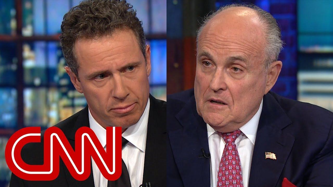 Rudy Giuliani Interview With Chris Cuomo 15 Jun 2018 Resourcesforlife Com