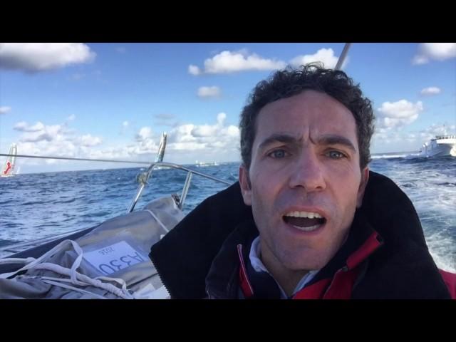 Initiatives Coeur : Première vidéo de Tanguy Delamotte à bord ! / Vendée Globe 2016