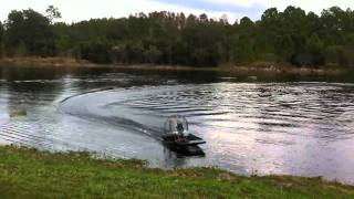 1/4 Scale Electric Airboat Part 2