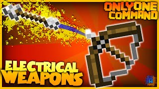 Minecraft - Electric Arrows and Bombs | Only One Command! | No Mods! (Vanilla)