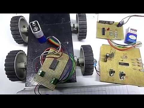 how to make RF wireless remote control car    PART 2