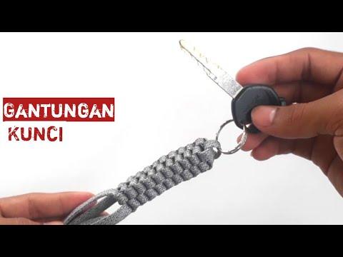 Cara Membuat Gantungan Kunci dari TALI SEPATU | how to make a key chain - Ide Kreatif