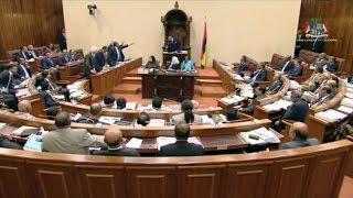 Parlement Walk out de lopposition apr s lexpulsion de B renger et des d put s MMM
