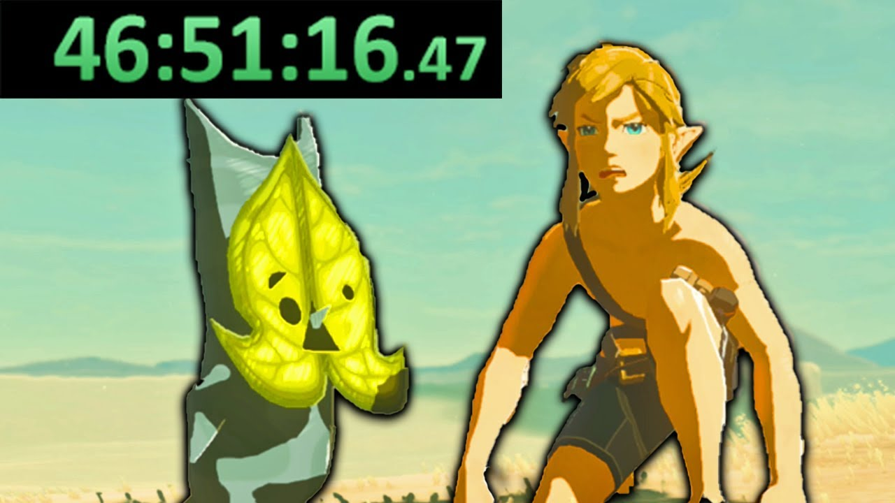 I just completed Breath of the Wild's longest speedrun