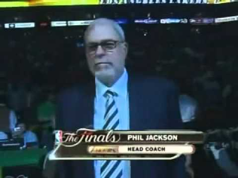 NBA Finals Game 2 Starting Line Up Introductions (Lakers Vs Celtics)