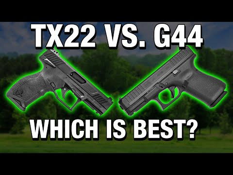 TAURUS TX22 VS GLOCK 44 - HEAD TO HEAD COMPARISON!