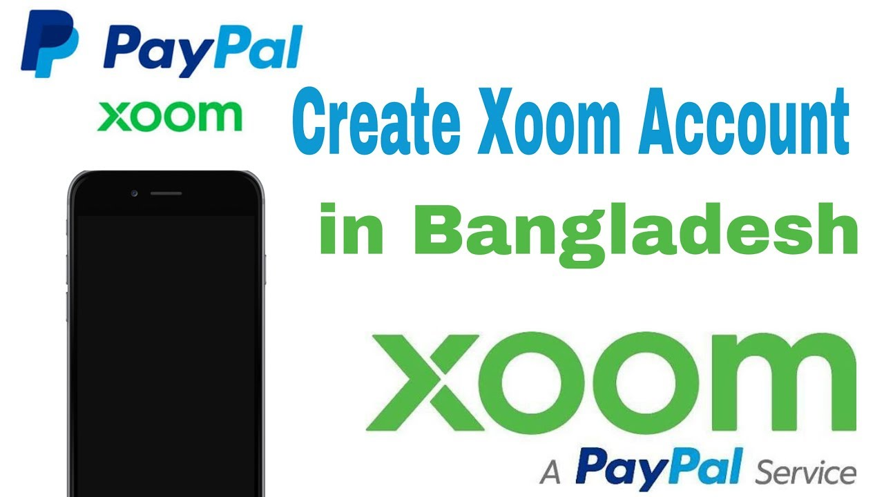 How to create Xoom account with PayPal in Bangladesh on android  /Bangla  -2017