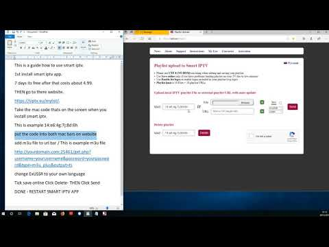 Adding M3U file to smart iptv step by step guide- how to guide