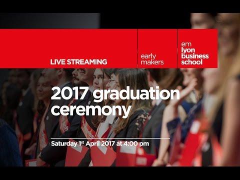 2017 graduation ceremony / cérémonie de remise des diplômes