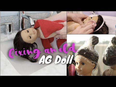 Fixing An Old AG Doll! | White Fox Stopmotion