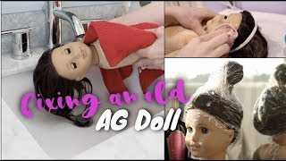 Gambar cover Fixing an Old AG Doll! | White Fox Stopmotion