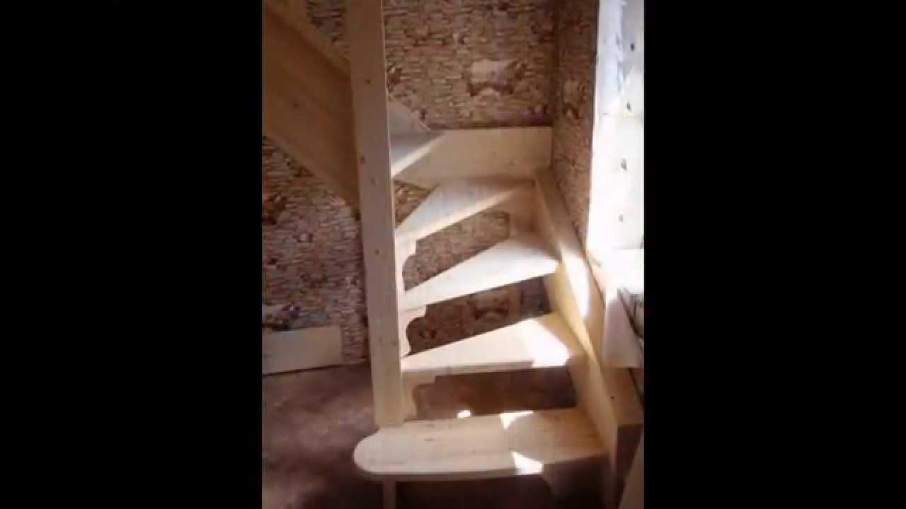Как сделать лесенку на второй этаж видео 188