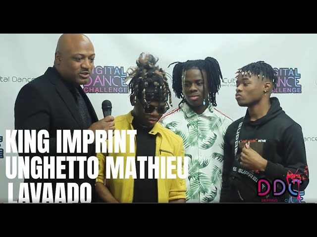 King Imprint, Unghetto Mathieu and Lavaado Interview