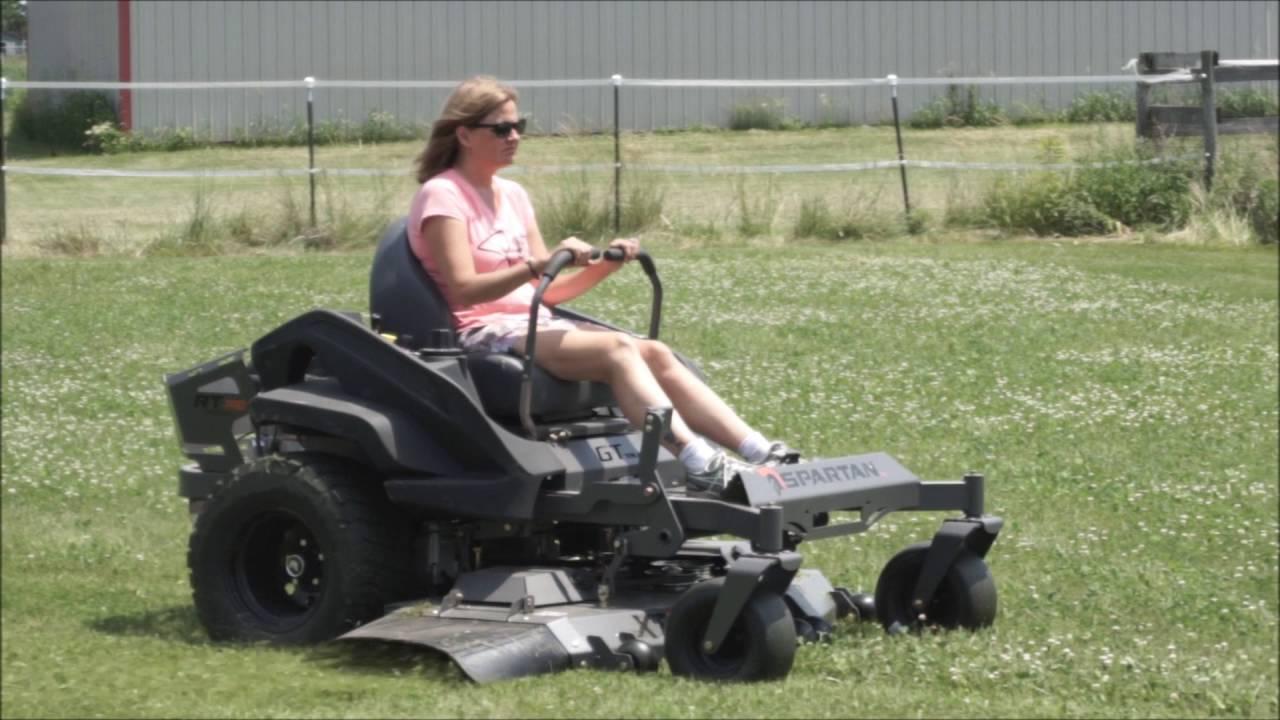 Spartan rt pro lawn mower Review