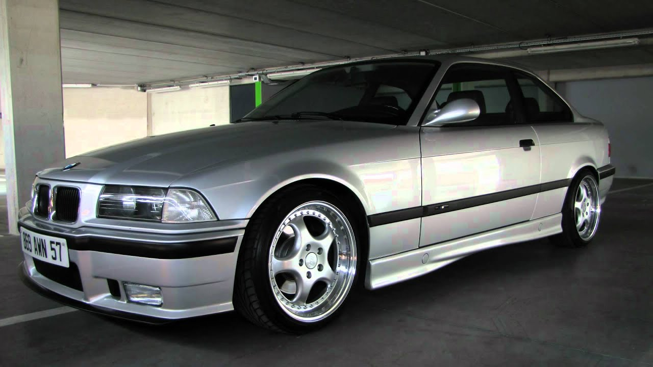 bmw e36 320i full m3 eisenmann race hd video youtube. Black Bedroom Furniture Sets. Home Design Ideas