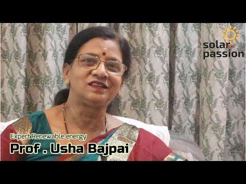 Dr. Usha Bajpai – Opportunity in solar energy
