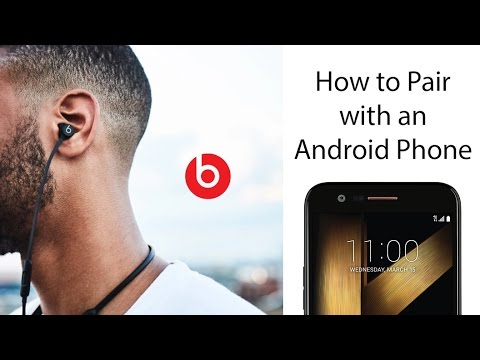 low priced 5e572 65d93 How to Pair the Beats X Wireless Earbuds to an Android Phone