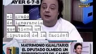 678 - Matrimonio igualitario: Diputado Olmedo, un representante del campo 14-07-10