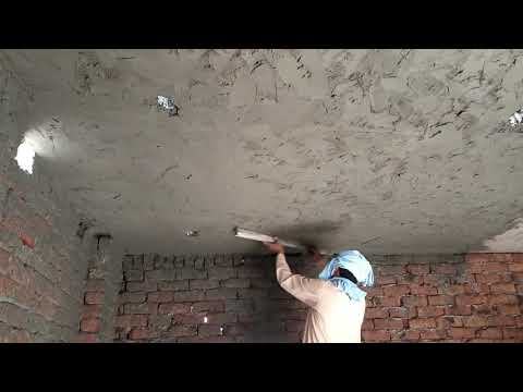 Rooof plaster House construction chat plaster in pakistan
