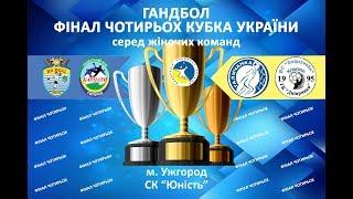 Гандбол.Фінал чотирьох кубка України серед жінок. Жеребкування
