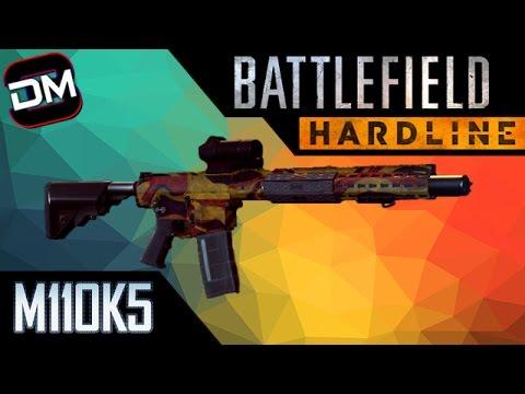 THE SILENT BEAST! | Battlefield Hardline M110K5 Gun Review