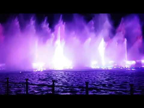 Okada Manila fountain show (I Don't Want To Miss A Thing - Aerosmith)