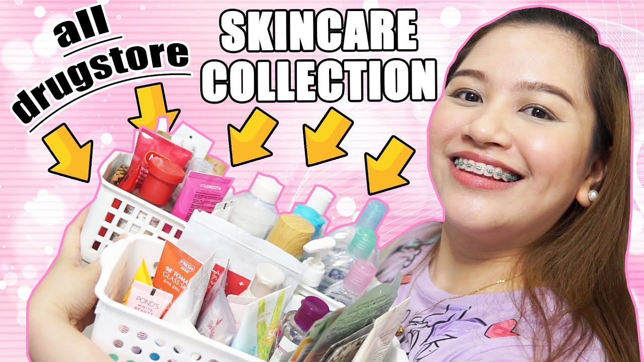 All Affordable Drugstore Skincare Collection Watsons Skincare Products Beginners Guide Must Haves Youtube