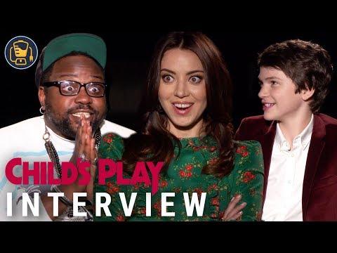 Child's Play Exclusive Interviews With Aubrey Plaza, Brian Tyree Henry And Gabriel Bateman