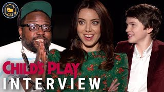 Child's Play Exclusive Interviews With Aubrey Plaza, Brian Tyree Henry And Gabriel Bateman