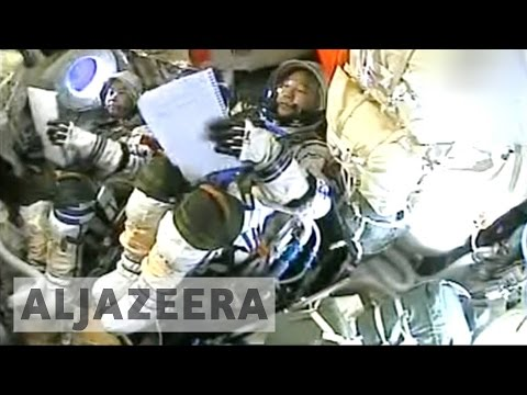 China astronauts return from space station after month-long stay