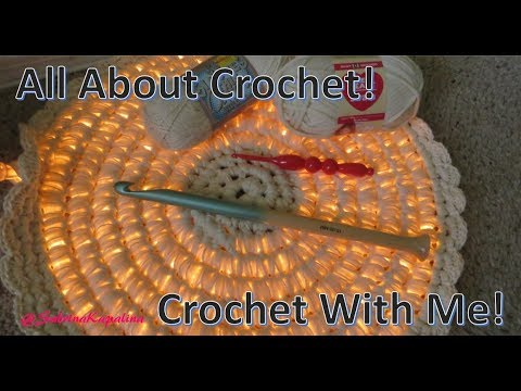 Crochet with me! A rope light mat