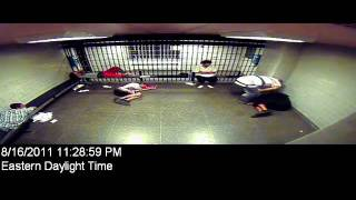 Lansing Michigan Jail Cell Fight