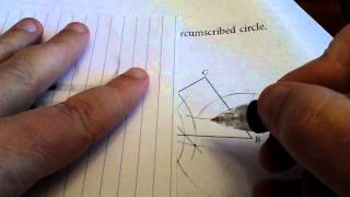 Chapter 3 Test Part III #5 circumscribed circle