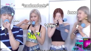 Download lagu Itzy being socially awkward around other idols