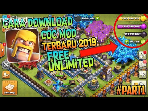 How To Download COC Mod Apk Latest Version V11.866.10 #Part1