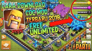 Gambar cover How To Download COC Mod Apk Latest Version v11.866.10#Part1