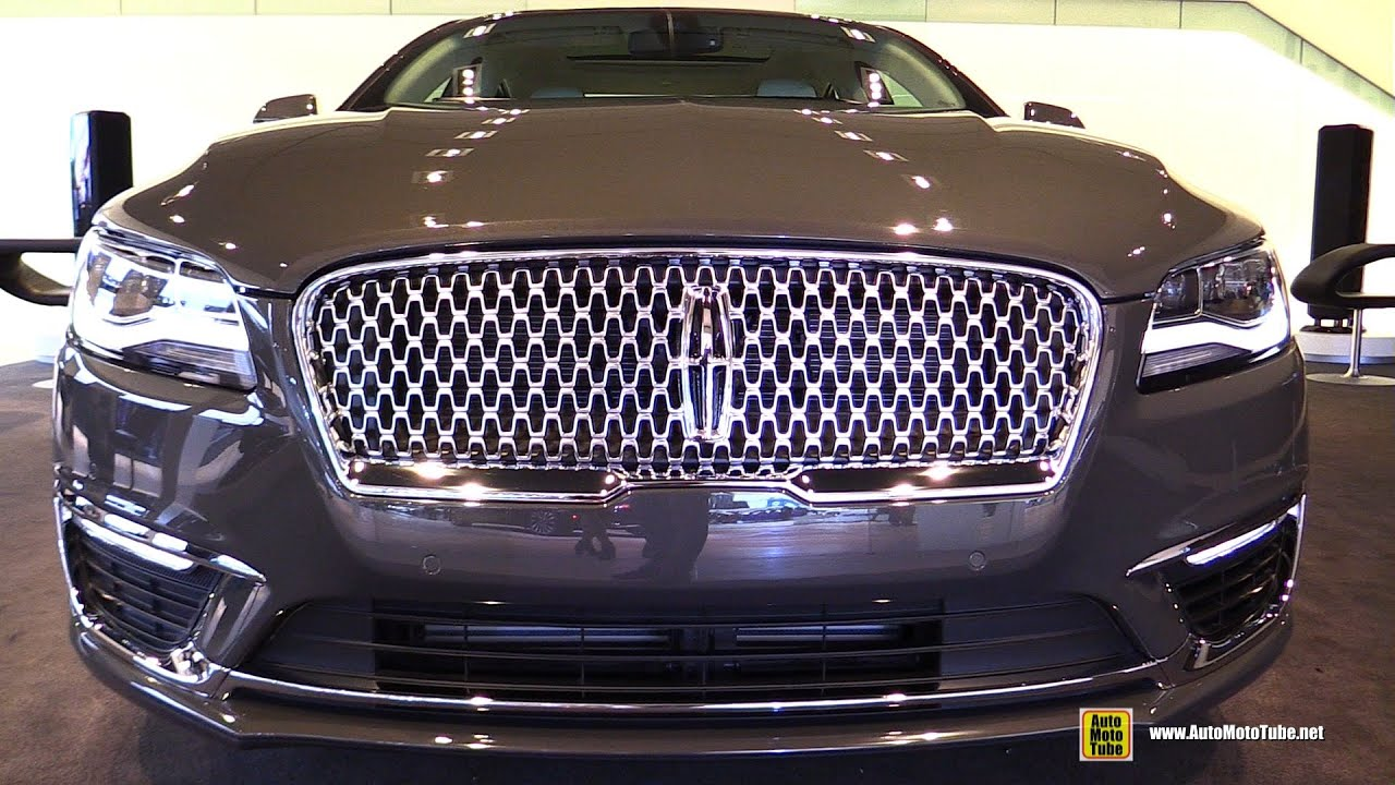 2017 Lincoln Mkz Exterior And Interior Walkaround 2016 Detroit