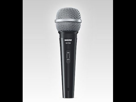 shure sv100 dynamic microphone unboxing and review preview youtube. Black Bedroom Furniture Sets. Home Design Ideas
