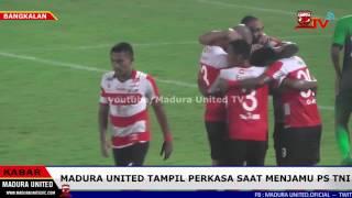 Momen seru saat Madura United Putus Rekor PS TNI