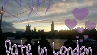 Date in London with my fiance.