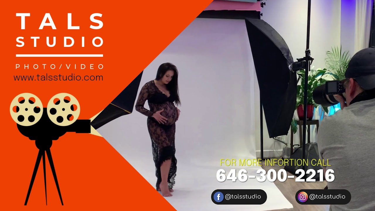 NYC Maternity Photographer $249 2 Hour Photoshoot Session At Tals Studio / Yoni Levy