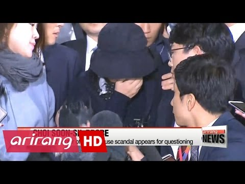ARIRANG NEWS BREAK 20:00 Choi Soon-sil summoned by Seoul's prosecutors for questioning