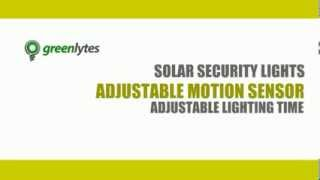 Greenlytes Solar Flood Lights, Solar Security Lights, Solar Sign Lights