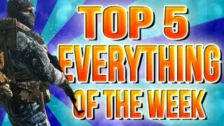 Black Ops 2 : Top 5 Everything of the Week : Episode 1